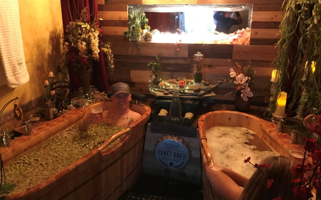 Hop In The Spa…Beer Spa!