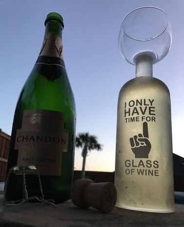 BigMouth Wine Glass