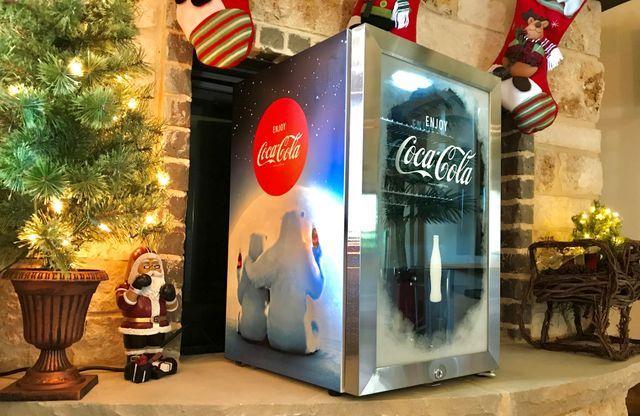 Nostalgia Coca-Cola Beverage Cooler