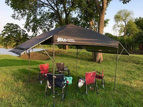 Quik Shade Solo Steel Tent