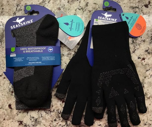 Seal Skinz Waterproof Socks Review.