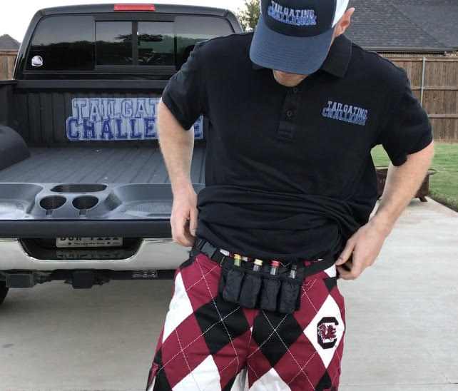 A Tailgating Fanny Pack