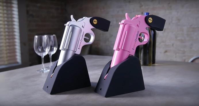 Wine Ovation Gun Opener Review