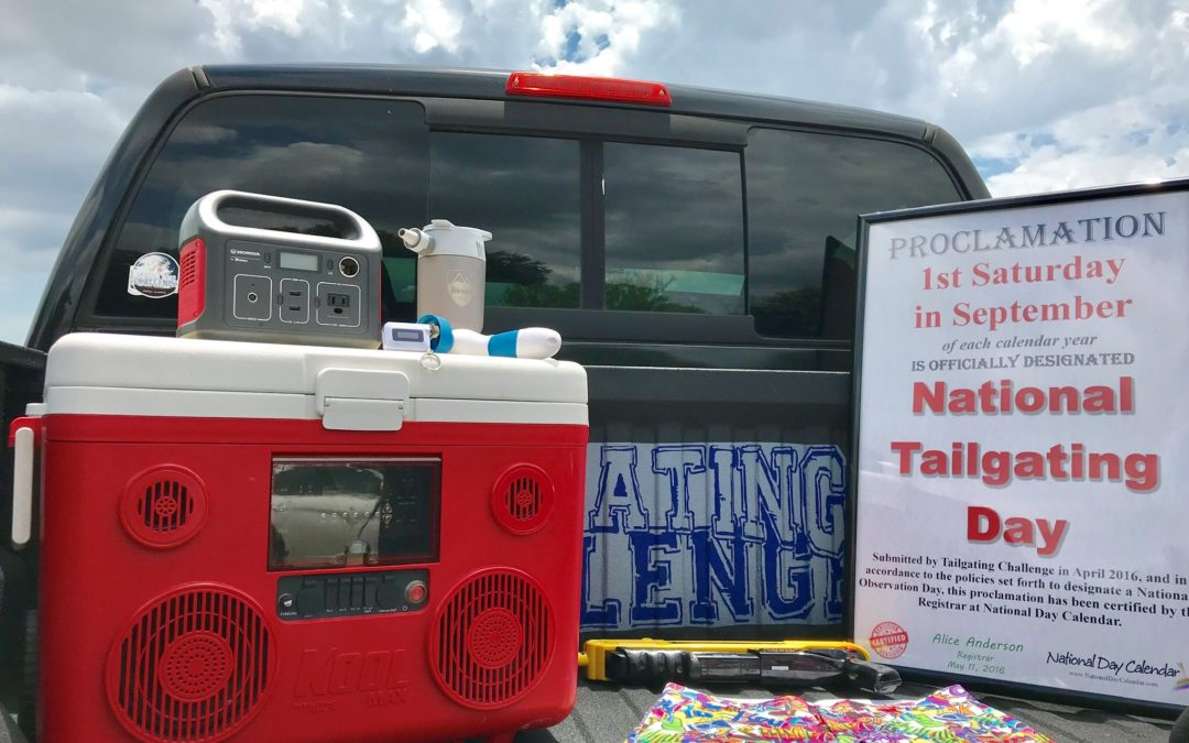 Top 10 tips to enjoy National Tailgating Day