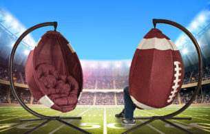 FlowerHouse Football Chair