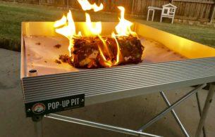 Pop Up Fire Pit