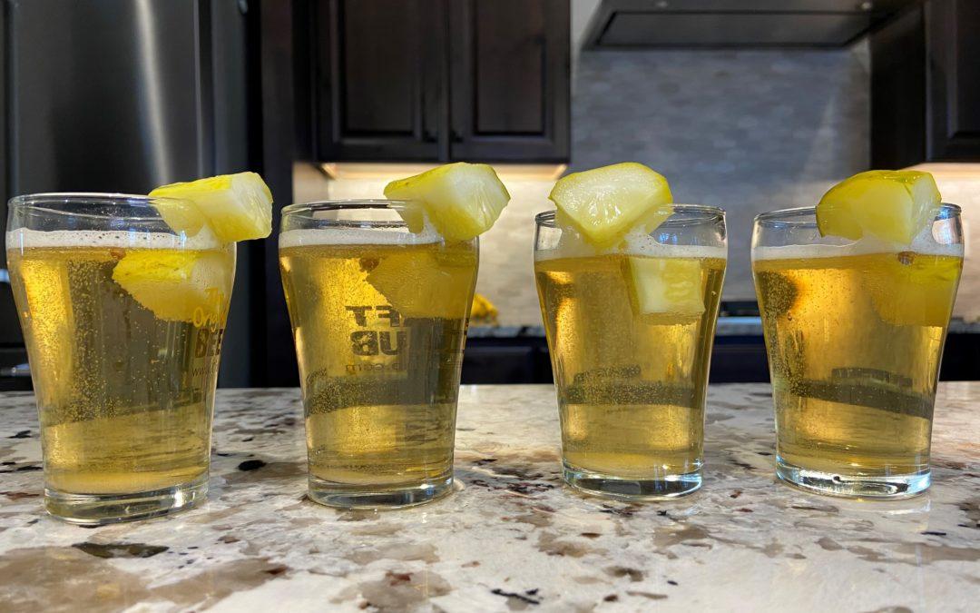 Homemade Pickle Beer