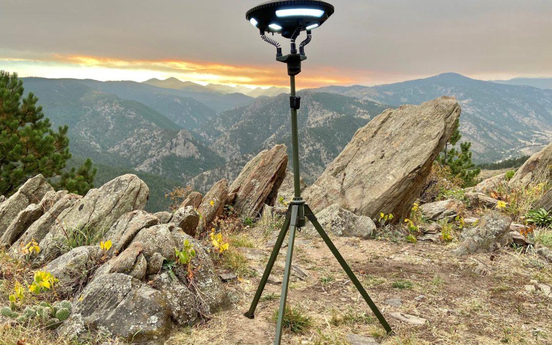UFO Solar Light