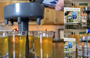 Six Shot Glass Dispenser Review
