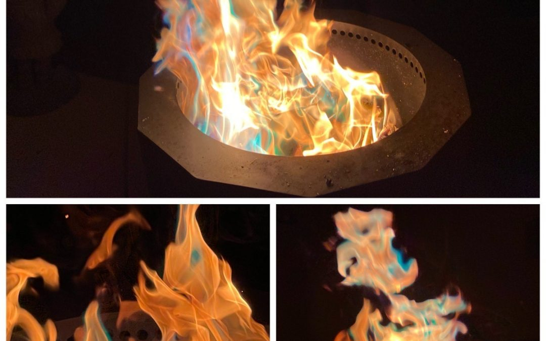 Color Changing Fire Packets