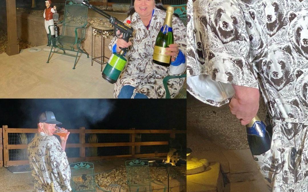 California Cowboy Yukata Robe Review