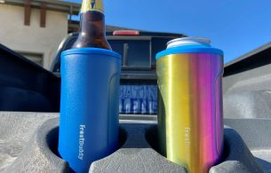 Looking a koozie that can handle almost any bottle or can you throw at it? Take a look at our new test of the Frost Buddy Koozie Review.