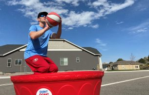 giant pong basketball review
