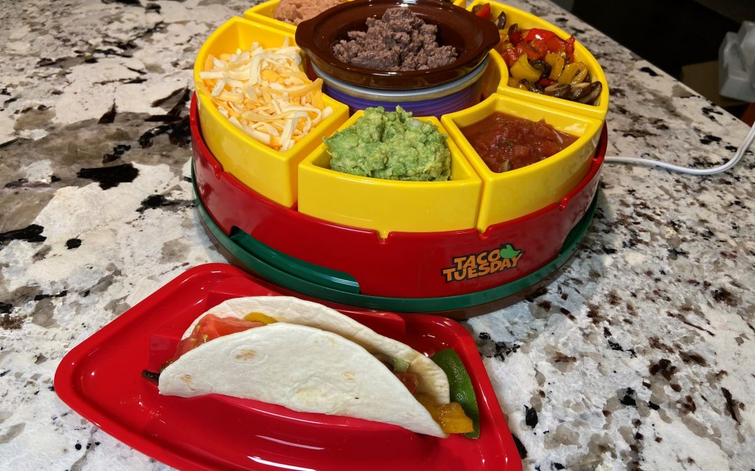 Taco Tuesday Lazy Susan Taco Bar Review