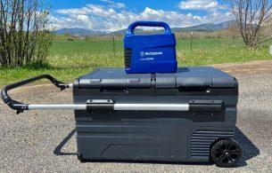newair electric car camping cooler review
