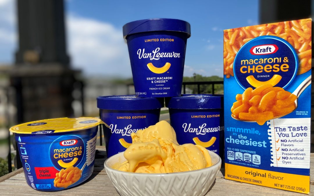 Kraft Macaroni and Cheese Ice Cream