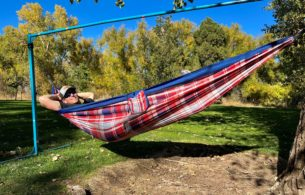 single point hammock stand review
